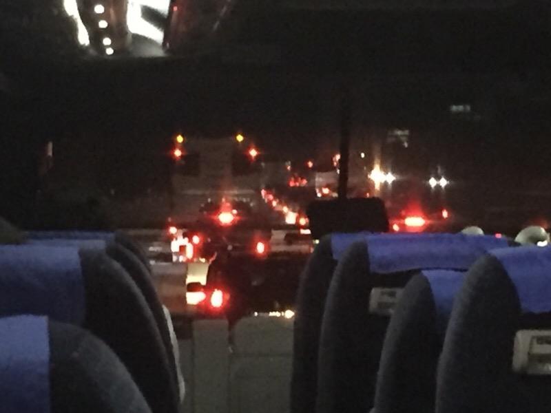 関越道での渋滞