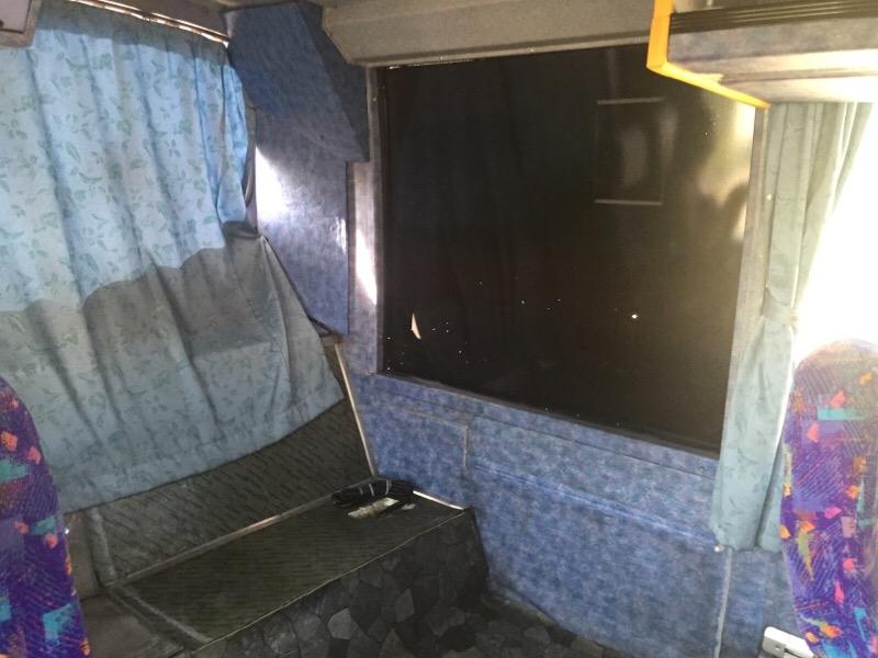 元阪急バスの、やんばる急行バス トイレ撤去跡