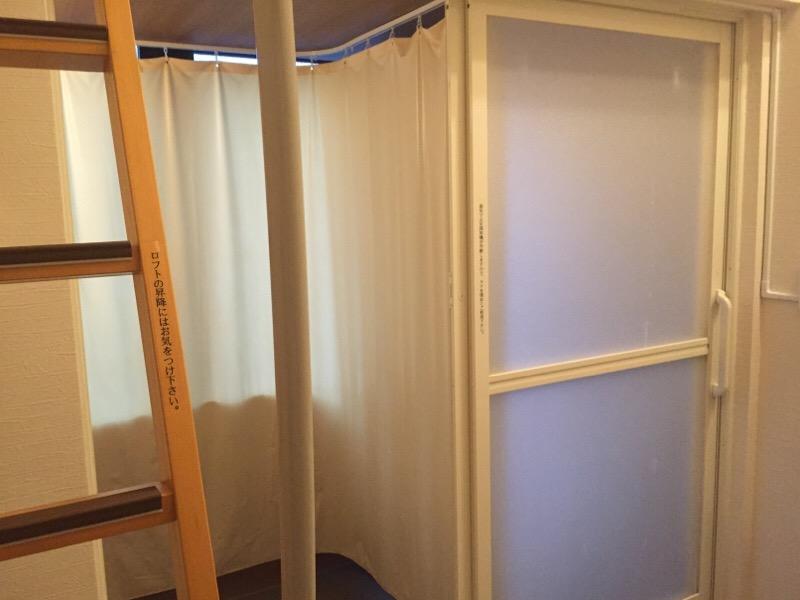 Hotel StoRK 那覇新都心(シャワールーム・手洗)