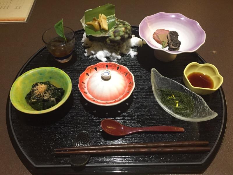 花咲酒家 てぃーだ・前菜 琉球珍味六種盛り