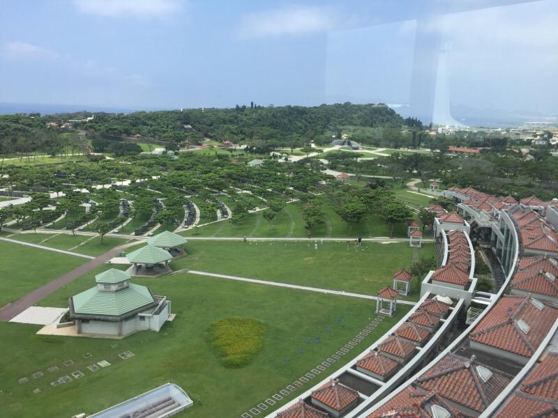 平和祈念資料館・展望台からの眺め(その6)