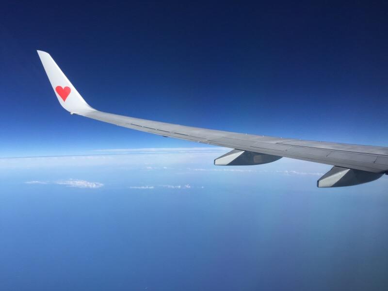 SKY519便から眺める光景(その2)