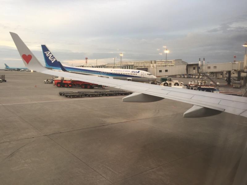 SKY519便 那覇空港到着