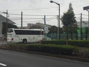 JRバス関東東京支社の入口