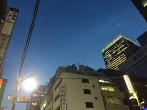 1月の夕方・八重洲の光景