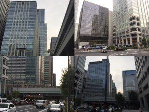 東京駅日本橋口の光景