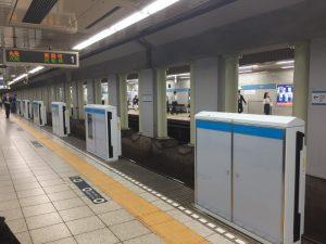 東西線九段下駅・西船橋方面ホームドア