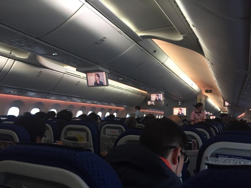 ANA985便 機内の光景(その2)