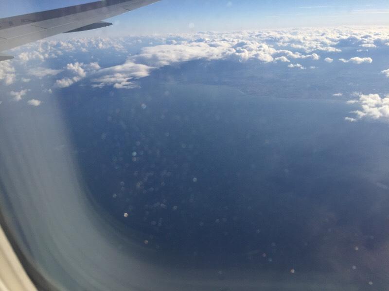 ANA028便から眺める光景(その8)