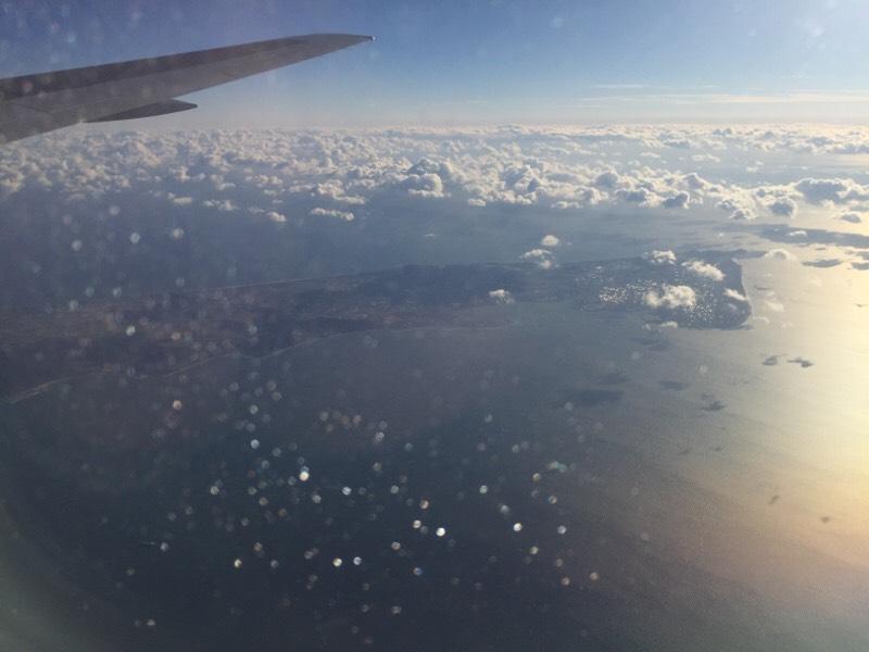 ANA028便から眺める光景(その10)