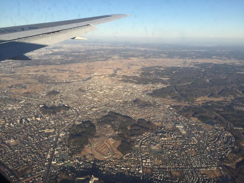 ANA028便から眺める光景(その26)