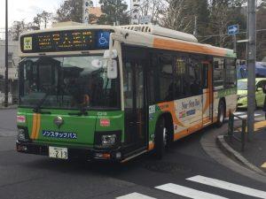 都営バス 小滝橋営業所の最新鋭車(C車)