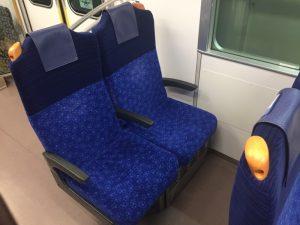 S-TRAINの座席