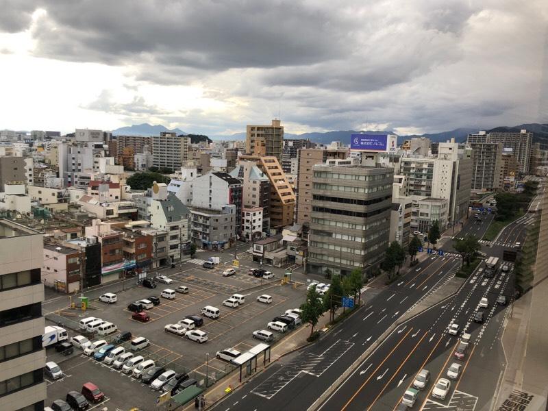JA広島ビルからの眺め