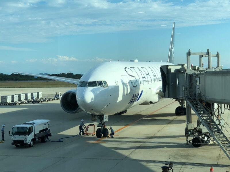 ANA682便が到着