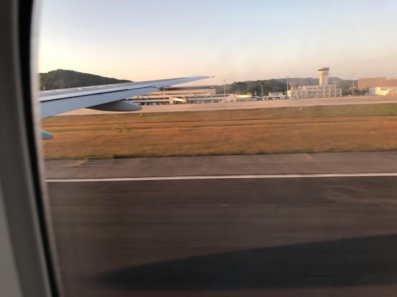ANA682便・機内からの眺め