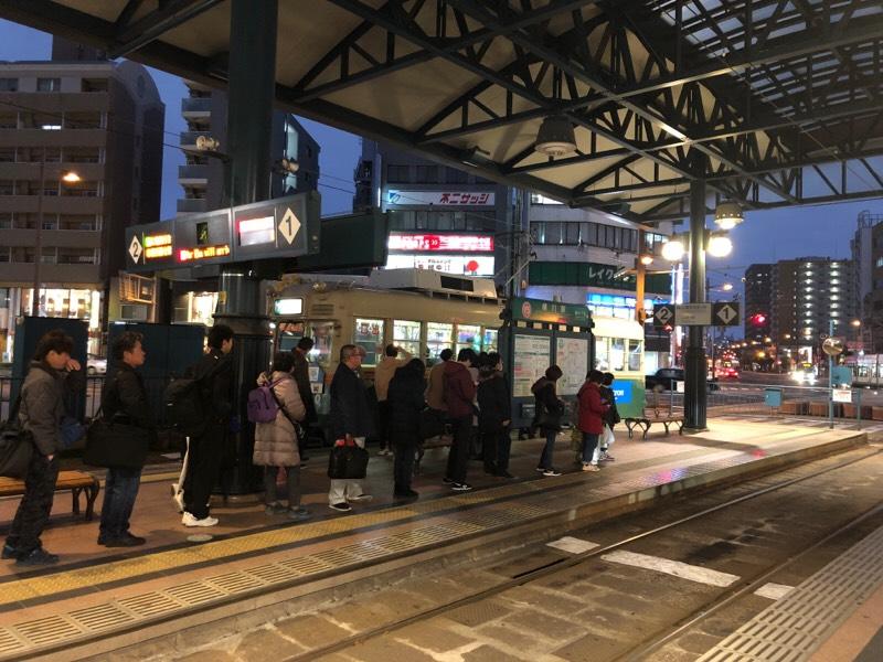 広電横川駅電停(その2)
