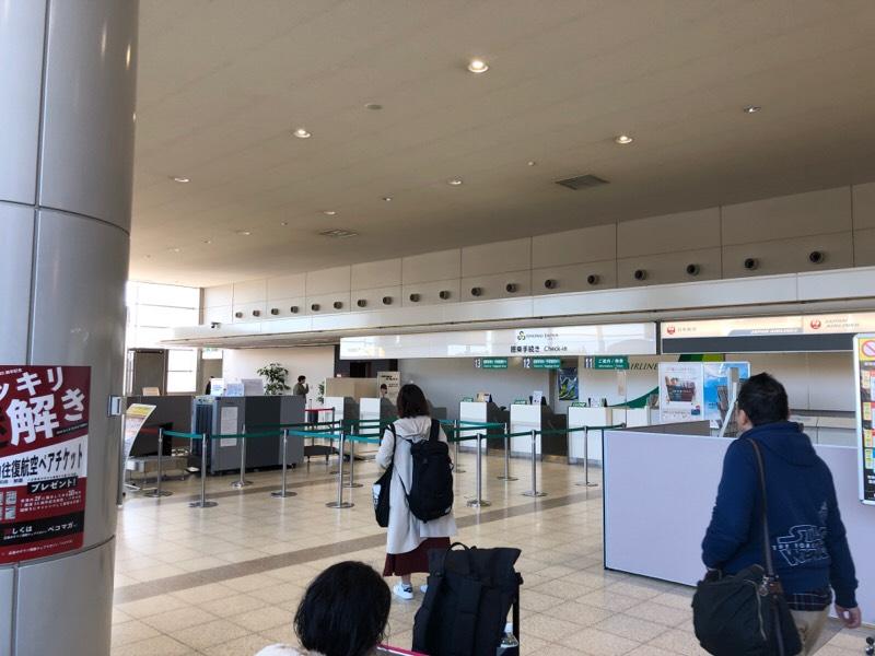広島空港 出発ロビー