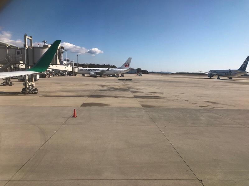 春秋航空622便・周辺の眺め