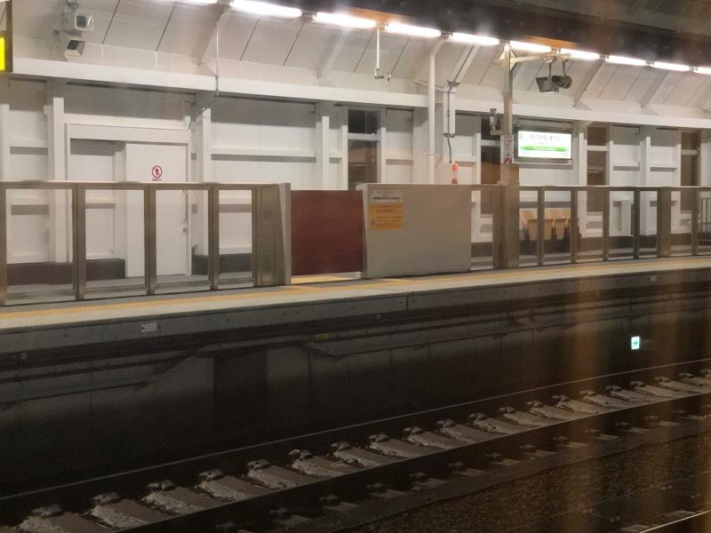 奥津軽いまべつ駅に到着