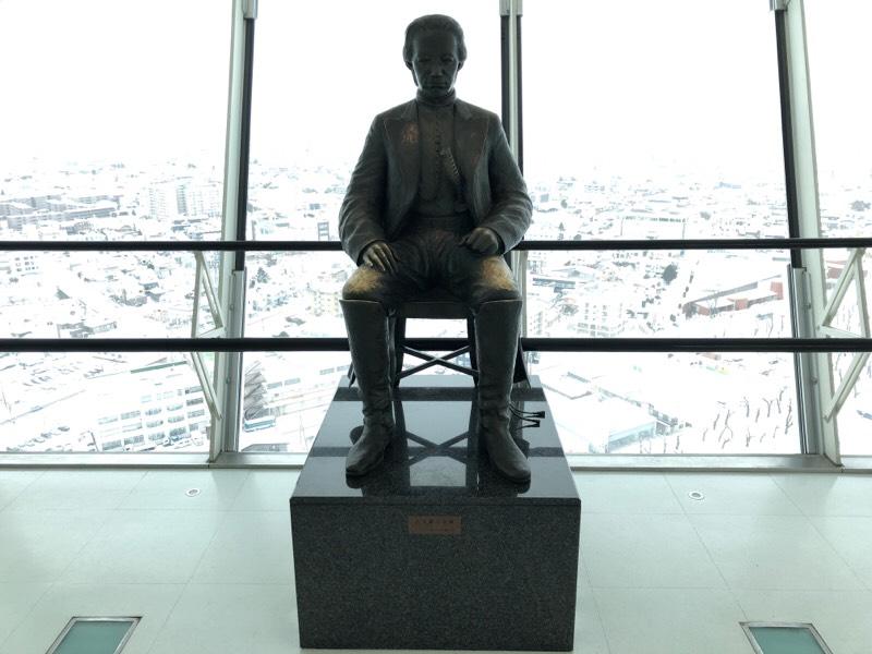 土方 歳三のブロンズ像