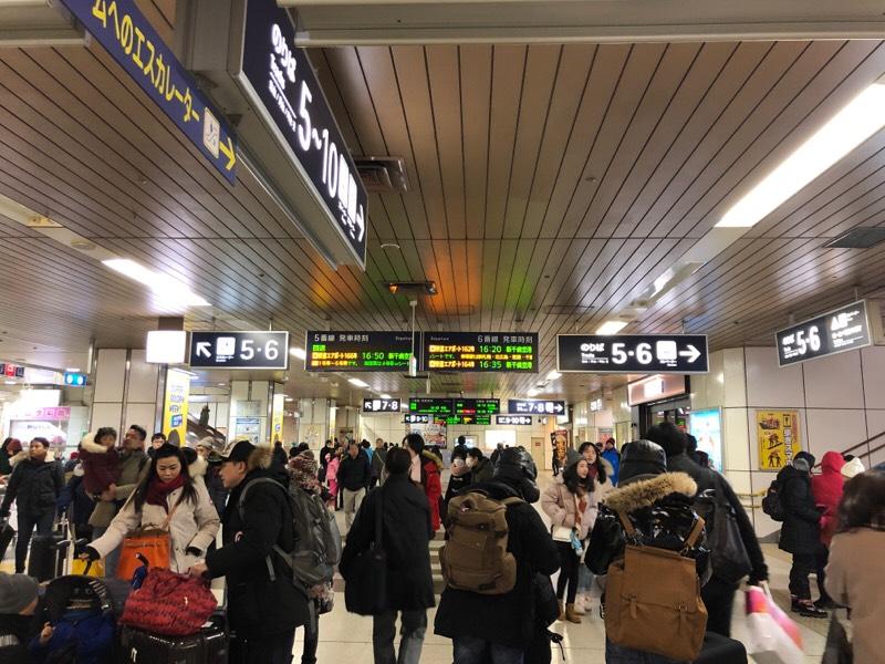 札幌駅 改札内