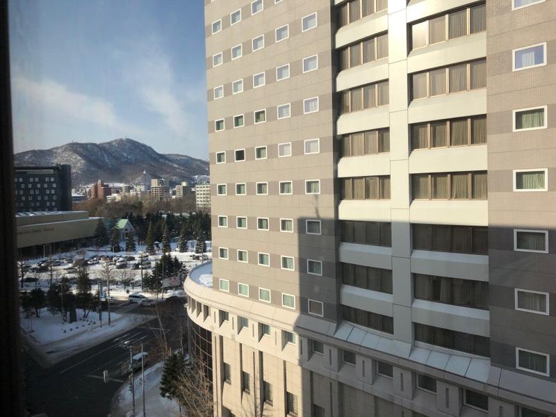ホテルノースシティから眺める光景