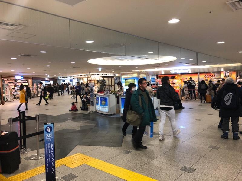 新千歳空港の光景