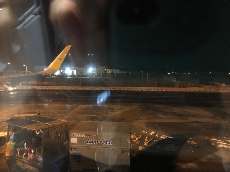 バニラエア920便・周辺の眺め
