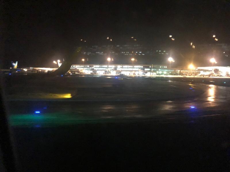 バニラエア920便・機内からの眺め