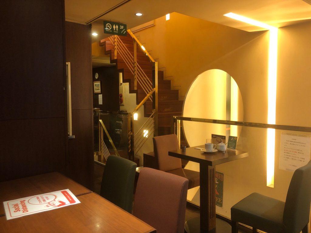 ミカドコーヒー店内